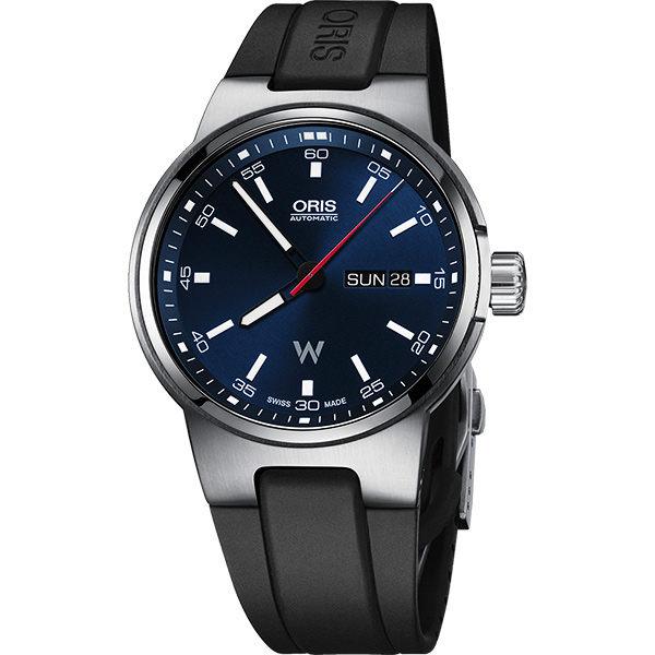 ORIS 豪利時0173577164155-0742450 Oris Williams 日曆星期表械腕錶/藍面42mm