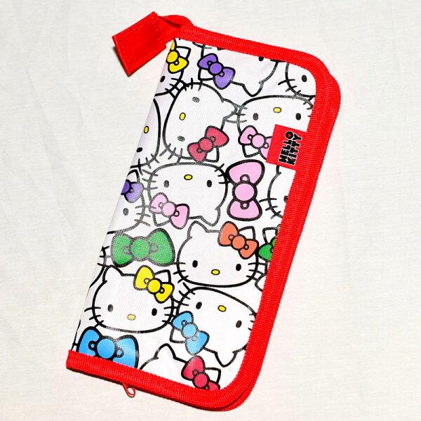 Hello Kitty 媽媽隨身包 可帶幼兒餐具等 日本帶回正版商品