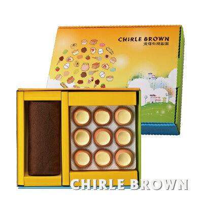 《查理布朗》幸福。甜蜜。點心樹 B禮盒(自取/消費滿$1500台北市區可免運外送到府) - 限時優惠好康折扣