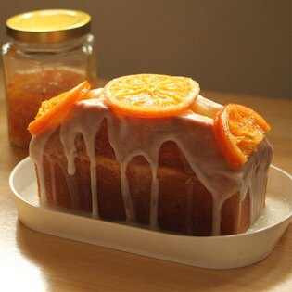 Sunny Ann 香橙檸檬磅蛋糕 手工熬煮橙片