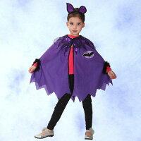 蝙蝠俠與超人周邊商品推薦GTH-1324 化裝舞會表演造型服紫蝙蝠披風組(S/M/L)