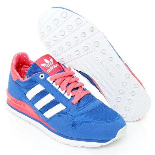 【adidas 】愛迪達 ADIDAS ZX 500 K 女休閒鞋-B25627 2