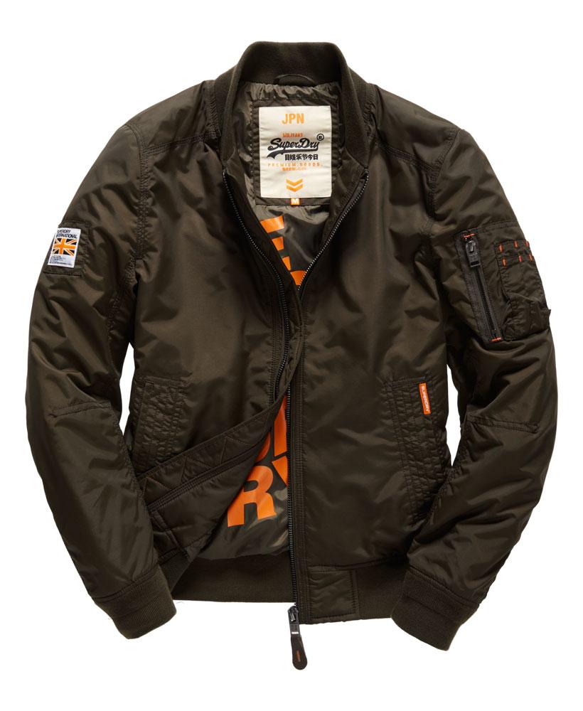 [男款]英國名品代購 極度乾燥 Superdry RSD Lite Pilot MA-1男士防水防風飛行外套夾克風衣 深卡其 0