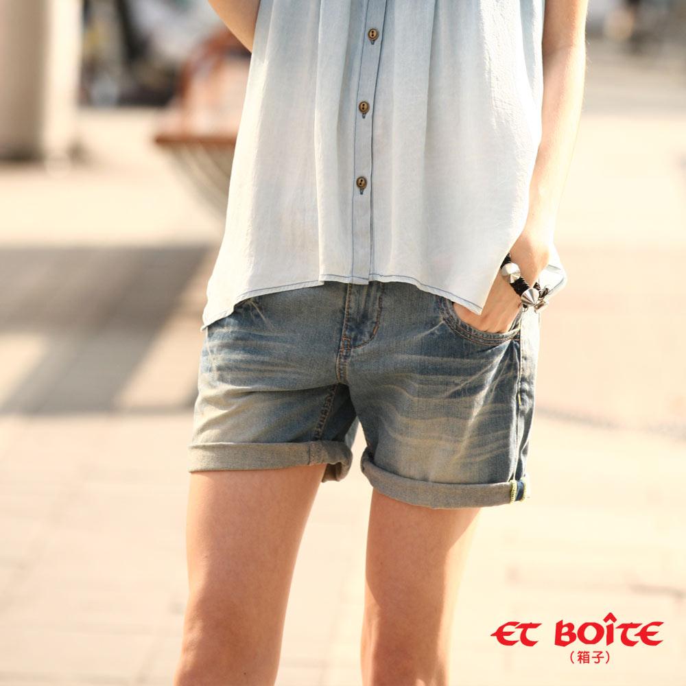 【ET BOîTE 箱子】城市輕旅短褲 0