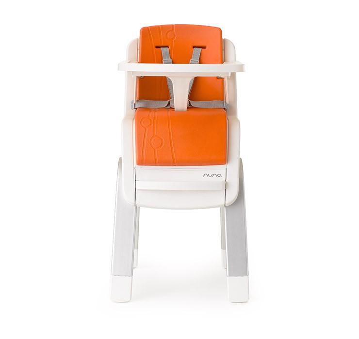 NUNA - ZAAZ 高腳椅 (橘) 贈品牌手提袋+可愛玩偶吊飾,加贈NUBY鮮果園禮盒! - 限時優惠好康折扣