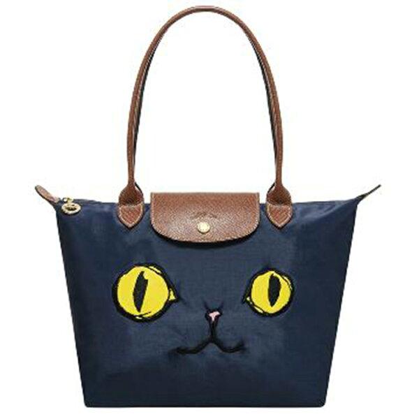 LONGCHAMP 2605 578 556新款包包貓咪款長柄小號折疊包水餃包