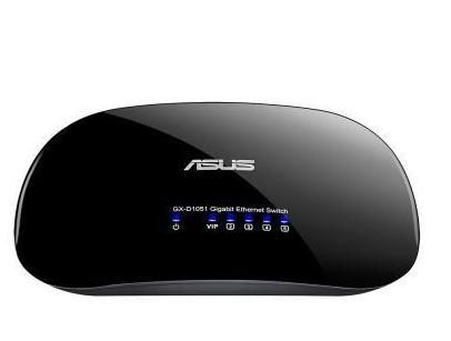 ASUS 華碩 GX-D1051 節能 5埠 桌上型交換器 [天天3C]