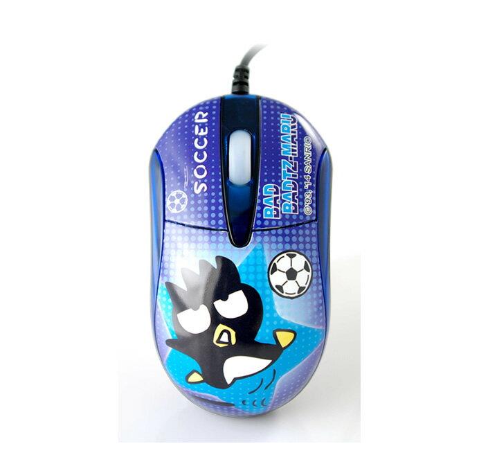 Hello Kitty 酷企鵝 SBM-521 精典光學滑鼠-足球[天天3C]