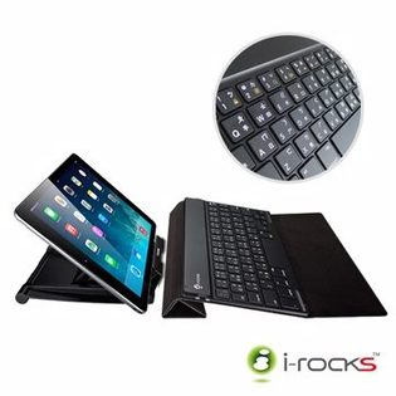 i-Rocks艾芮克 IRK36B 5.5mm 超薄 無線 藍芽鍵盤 手機平板可用 可充電式無線鍵盤 [天天3C]