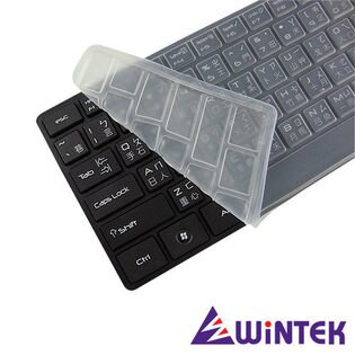 WINTEK 文鎧 WK550 黑天使多媒體超薄USB 有線鍵盤 送鍵盤膜  [天天3C]