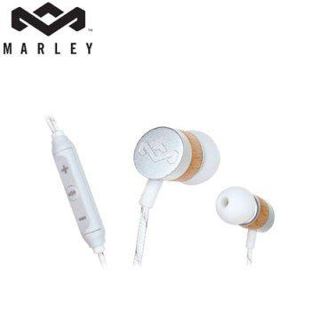 Marley (EM-JE033-DR) 銀白色 Uplift - 3BM - Drift 3鍵式入耳式耳機麥克風 [天天3C]