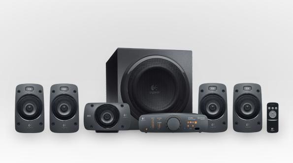 羅技Logitech Z906 Digital劇院喇叭 Dolby DTS 光纖 THX 超重低音 【天天3C】