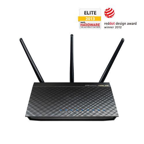 [天天3C] ASUS 華碩 (RT-AC66U) 802.11ac 雙頻無線 AC1750 Gigabit 路由器