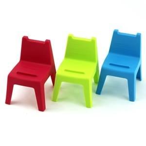 HOUSE 學童椅 椅子造型 手機座 1組3入【合迷雅好物商城】