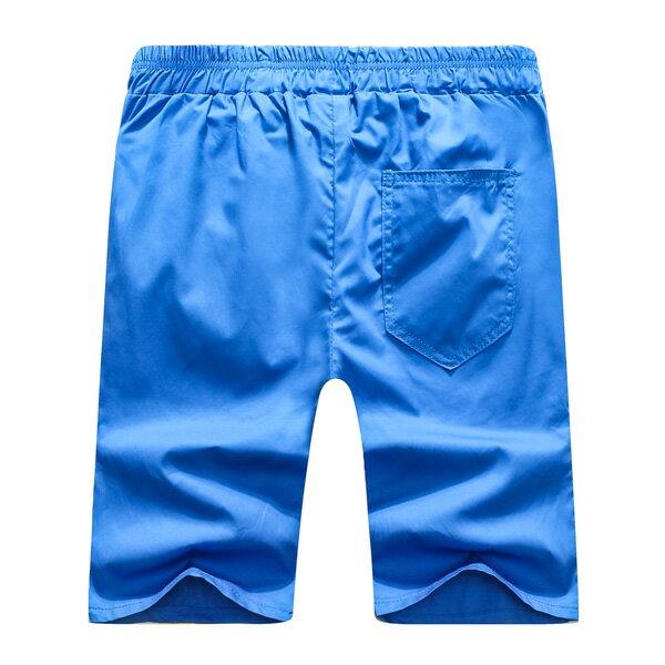 短褲.造型褲.夏日必備.情侶褲.休閒短褲.簡約素面休閒短褲【BN3852】艾咪E舖 2