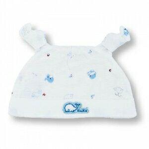 『121婦嬰用品館』KUKU 小鯨魚嬰兒帽 0