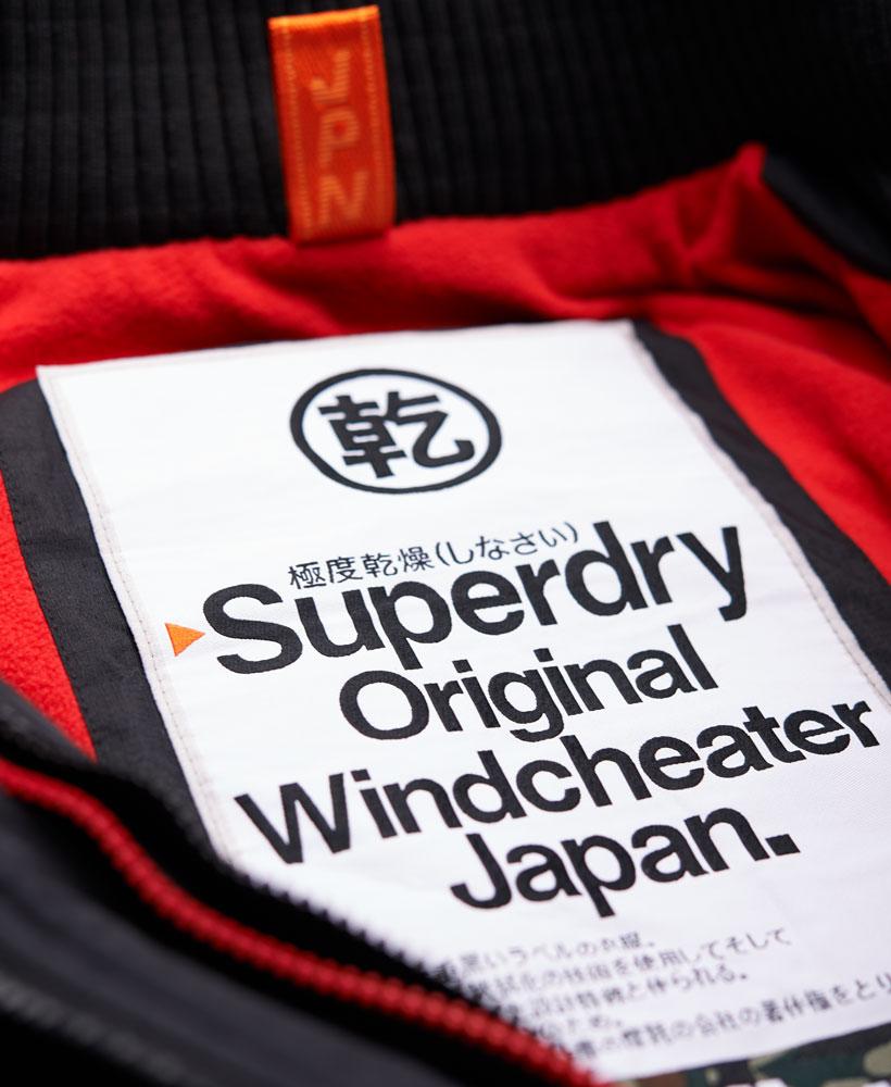 [男款] 英國代購 極度乾燥 Superdry Arctic 男士風衣戶外休閒 外套夾克 防水 防風 保暖 黑色/紅色 5