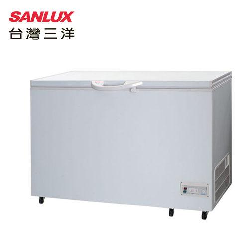 SANLUX 台灣三洋 SCF-415/415T 冷凍櫃 414L 使用環保冷媒 掀蓋式美背設計