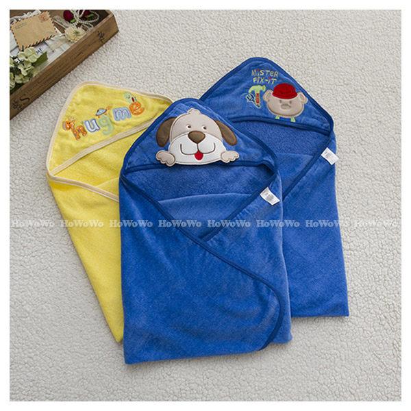 嬰兒包巾 卡通繡花毛巾布包被/浴巾CA1272