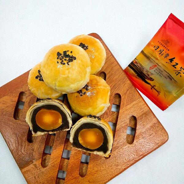 【湘禾烘焙】蛋黃酥(6入)此禮盒為直接手提式禮盒,也可與本坊新產品金桔粒做禮盒的組合搭配哦!