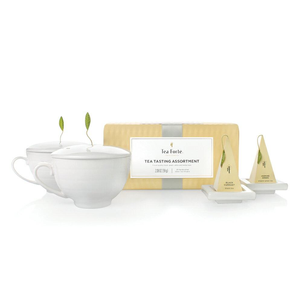 Tea Forte 雙人分享 茶品茶具禮盒 Tea Duet Gift Set 1