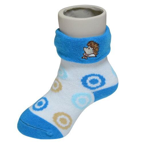 『121婦嬰用品館』狐狸村 威利繡花短筒襪 (9-11cm) 1