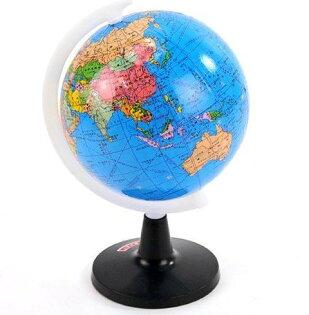360度旋轉 精巧版 地球儀 @文具用品 益智學習用品 ☆真愛香水★