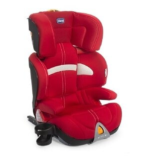 【淘氣寶寶●現貨】義大利Chicco Oasys2-3 FixPlus 安全汽座義大利原裝進口IsoFix( 紅 / 藍 / 黑 / 灰 )【公司貨】