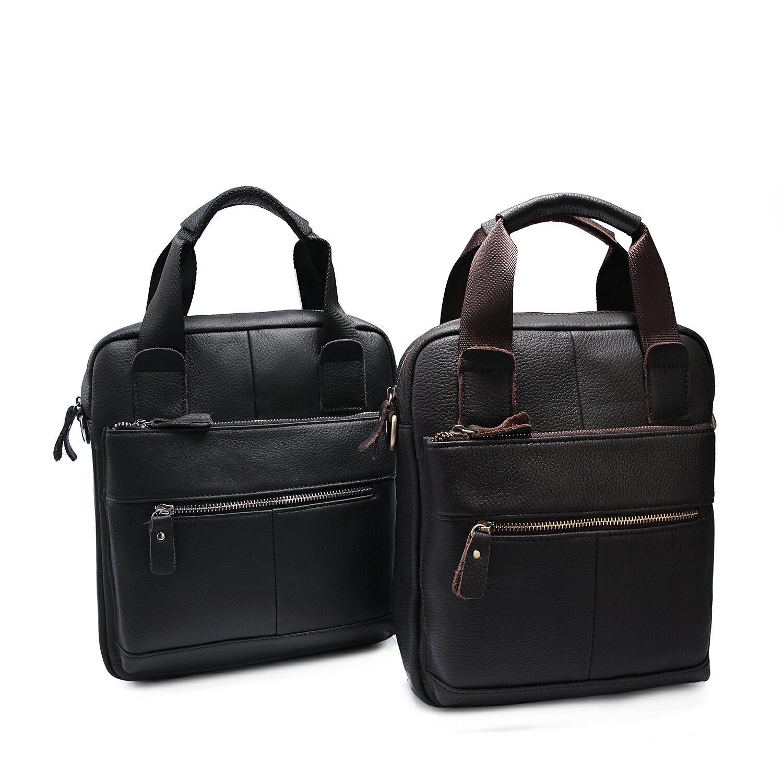 【BEIBAOBAO】首爾貴族真皮兩用包 (時尚黑 共兩色) 1