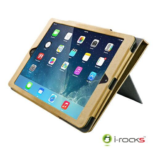 [展示品] i-Rocks IRC18W iPad Air專用皮革保護皮套
