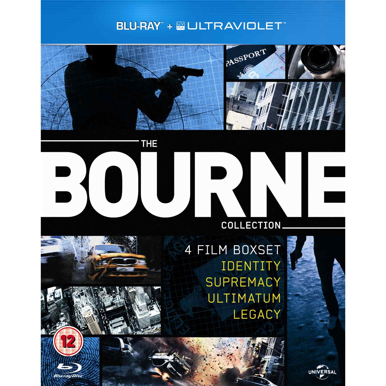 The Bourne Ultimatum (2007) Dual Audio Hindi 720p BluRay ...