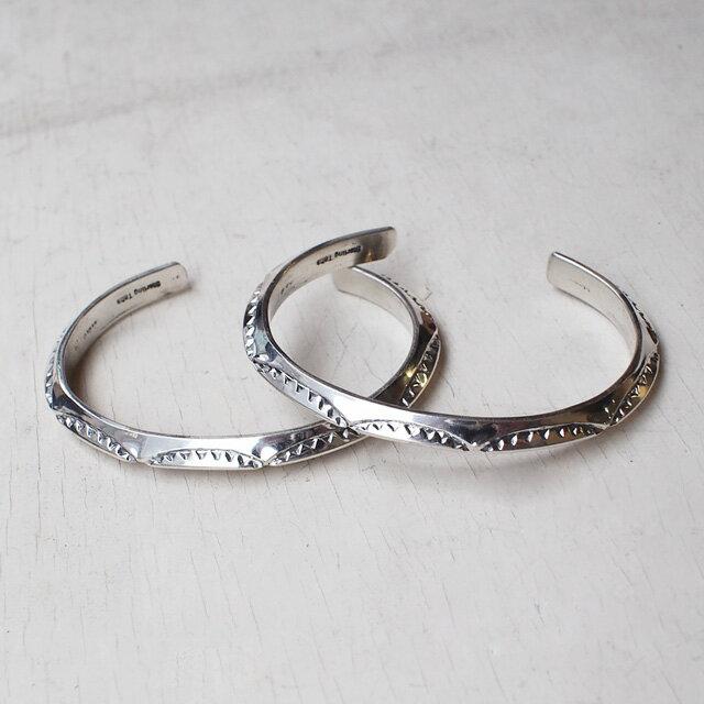 【現貨商品】【Indian Jewelry】印地安圖騰三角形手鐲(花紋隨機出貨)(Navajo-040) 2