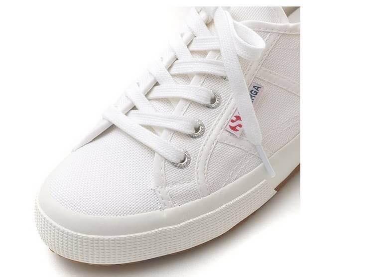 【Superga】2750plus 內增高\鬆糕鞋\義大利國民鞋 2