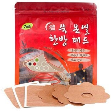 《香水樂園》韓國 7mk 12小時發熱貼 艾草 暖宮貼 15入/包 小太陽貼 全身 腹部 經痛舒緩