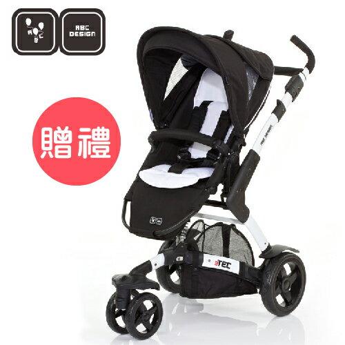 【好禮五選二】德國【ABC Design】3TEC 嬰兒推車(黑白個性款)(蚊帳/雨罩-11月寄出) 0