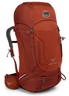 【鄉野情戶外專業】  Osprey |美國|  Kestrel 68 登山背包/自助旅行大背包-火紅M/L/Kestrel68  【容量68L】
