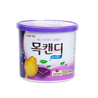 【糖果王】韓國Lotte樂天 藍莓喉糖 (大罐裝)