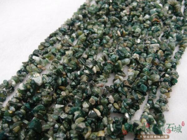 白法水晶礦石城 天然-七彩玉 3mm至9mm(有穿孔) 礦質  碎石 串珠/條珠  首飾材料(一件不留出清五折區)