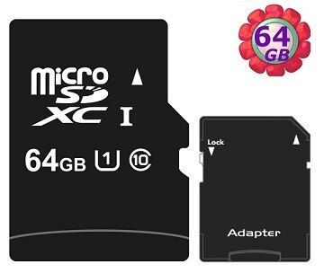 工業包 OEM 64GB 64G microSDXC【UHS 40MB/s】micro SD SDXC UHS-I Class 10 U1 C10 手機記憶卡 附SD轉卡 記憶卡