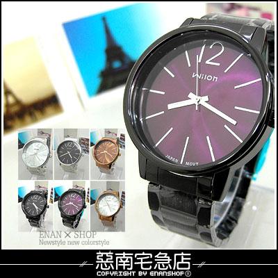惡南宅急店【0053F】酷似CK品味男錶女錶?可當情侶對錶?單支價(26款)
