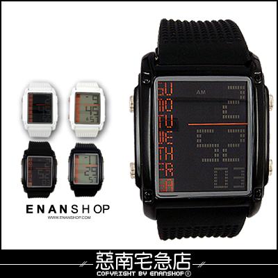惡南宅急店【0080F】聽說?電影款限定優惠中『LED時刻方錶款』可當情侶對錶。單款區