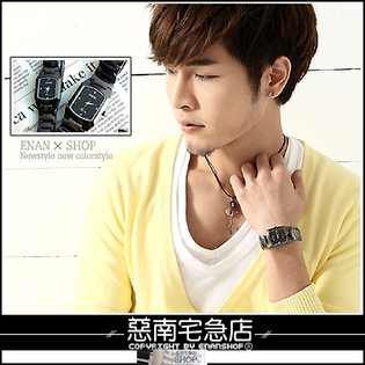 惡南宅急店【0204F】時尚防水陶瓷款『極度釋愛錶』男錶女錶情侶錶。單款區