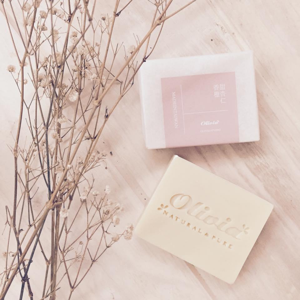 甜杏仁香橙皂 - OLIVIASOAP