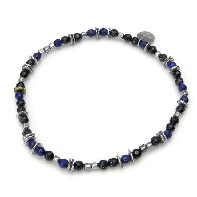 【海外訂購】【amp japan】天然寶石民族風腳環(銀河藍) (AMP-13AHK-192  0658440000) 3