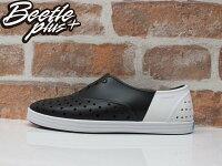native 輕量懶人鞋、休閒防水鞋到BEETLE 2015 NATIVE JERICHO 黑白 雙色 OREO 色塊 拼接 超輕量 女鞋 休閒鞋 修身鞋 GLM04W-1239