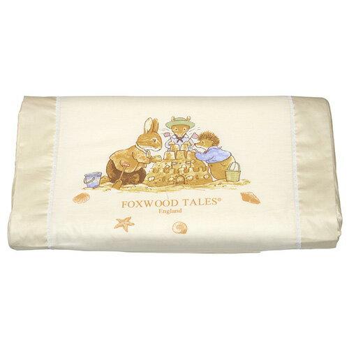 『121婦嬰用品館』狐狸村 乳膠兒童健康枕-米 0