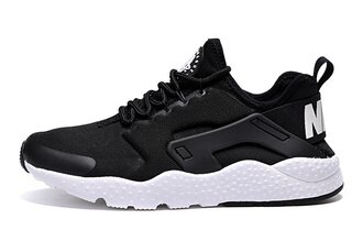 "Nike Air Huarache Ultra 三代系列 ""Black White""  男女鞋"