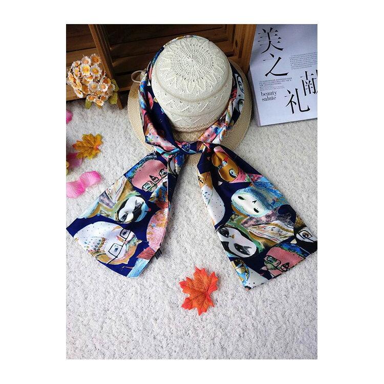 絲巾 印花氣質披肩/圍巾/絲巾【LQS155】 BOBI  10/20 2