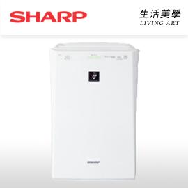 日本原裝 SHARP【FU-E51】空氣清淨機 12坪 負離子 除臭 抗菌 過敏