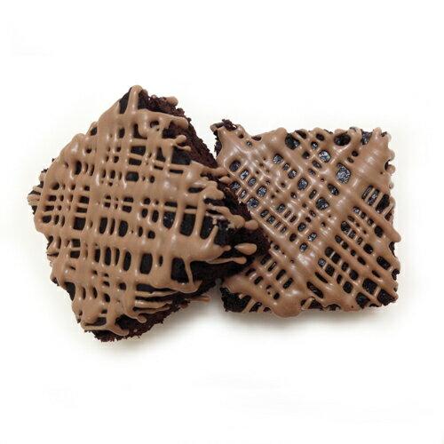 【黑熊先生巧克力布朗尼】咖啡拿鐵巧克力布朗尼X6塊 6 Coffee Latte Brownies